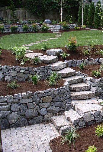 Zahrada ve svahu - inspirace - Obrázek č. 85