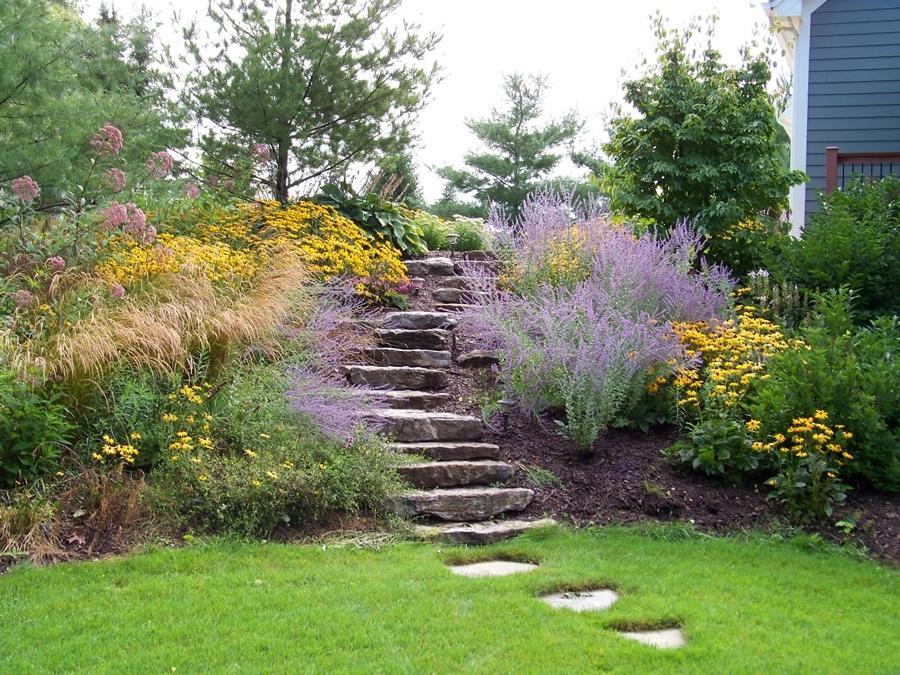 Zahrada ve svahu - inspirace - Obrázek č. 91