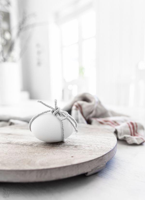 Jaro a Velikonoce v duchu Skandinávie a minimalismu - Obrázek č. 2