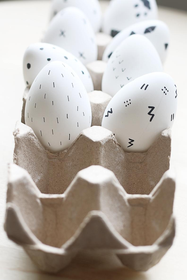 Jaro a Velikonoce v duchu Skandinávie a minimalismu - Obrázek č. 12