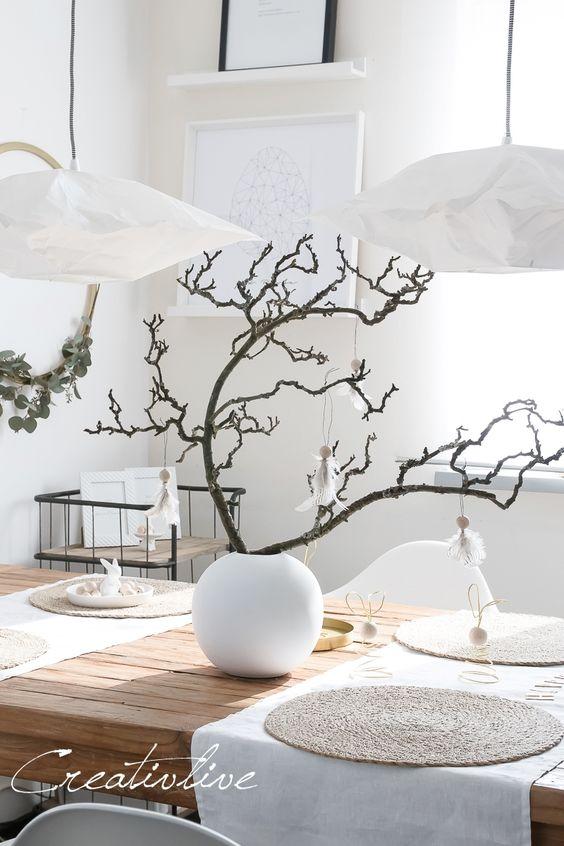 Jaro a Velikonoce v duchu Skandinávie a minimalismu - Obrázek č. 34