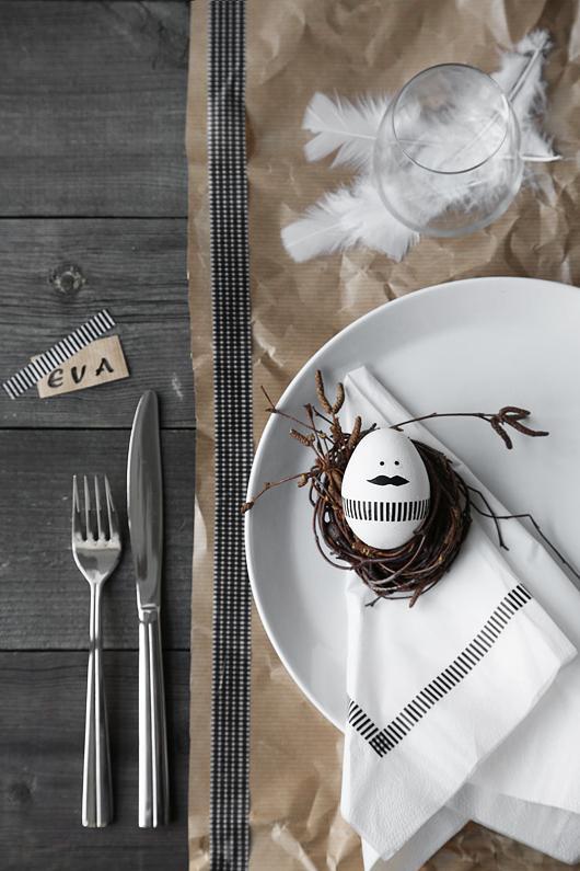 Jaro a Velikonoce v duchu Skandinávie a minimalismu - Obrázek č. 36
