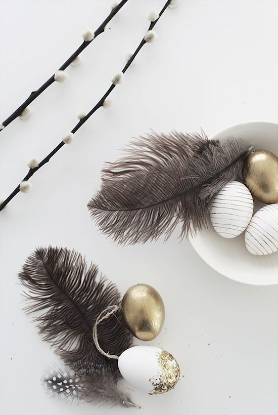 Jaro a Velikonoce v duchu Skandinávie a minimalismu - Obrázek č. 50