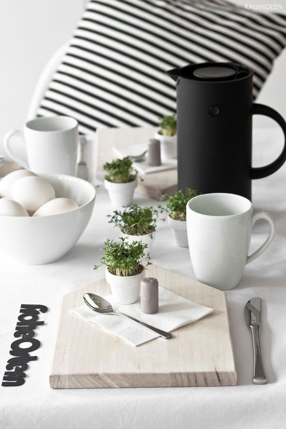 Jaro a Velikonoce v duchu Skandinávie a minimalismu - Obrázek č. 60