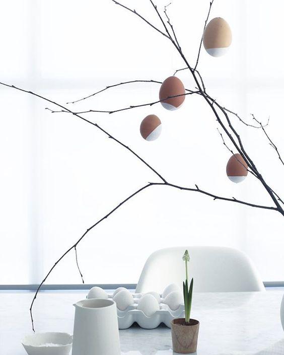 Jaro a Velikonoce v duchu Skandinávie a minimalismu - Obrázek č. 62