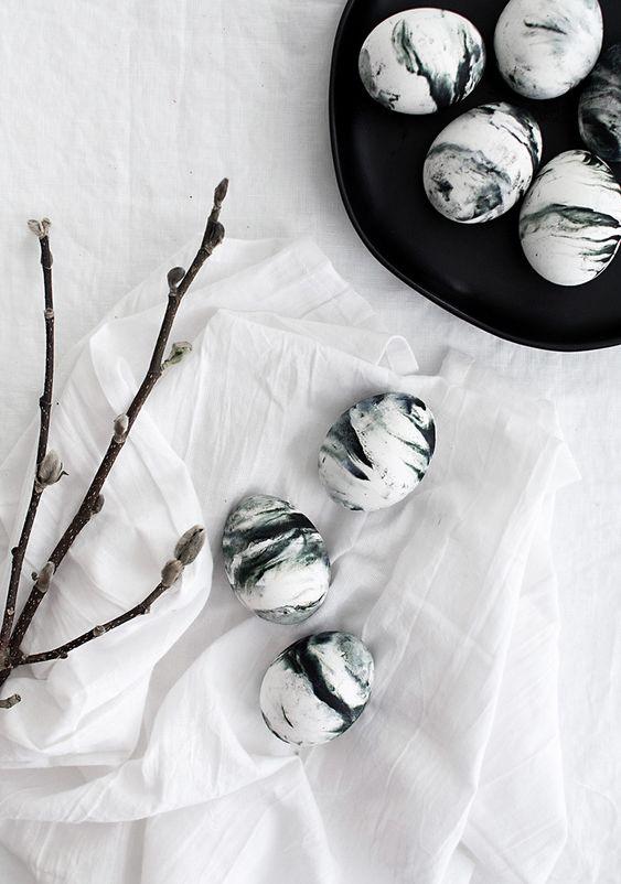 Jaro a Velikonoce v duchu Skandinávie a minimalismu - Obrázek č. 64
