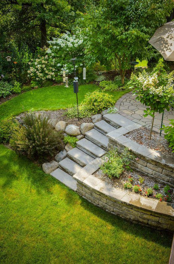 Zahrada ve svahu - inspirace - Obrázek č. 92