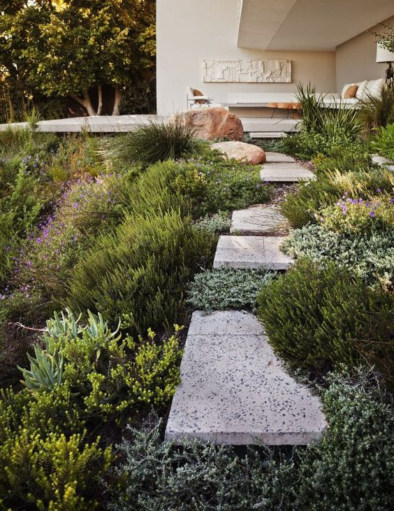 Zahrada ve svahu - inspirace - Obrázek č. 93