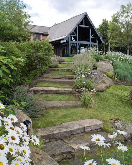 Zahrada ve svahu - inspirace - Obrázek č. 95
