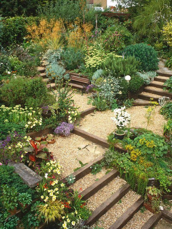 Zahrada ve svahu - inspirace - Obrázek č. 98
