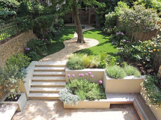 Zahrada ve svahu - inspirace - Obrázek č. 102