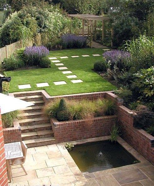 Zahrada ve svahu - inspirace - Obrázek č. 165
