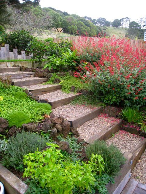 Zahrada ve svahu - inspirace - Obrázek č. 175