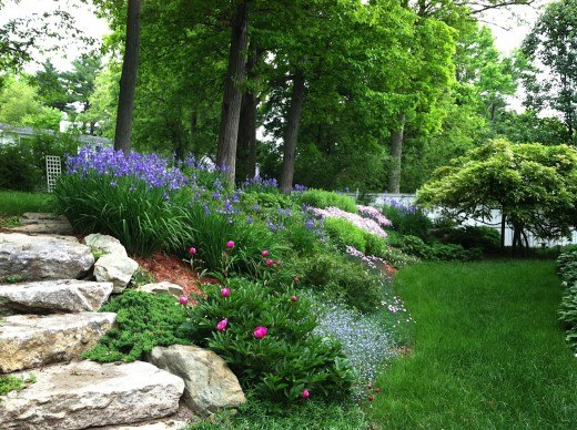 Zahrada ve svahu - inspirace - Obrázek č. 195