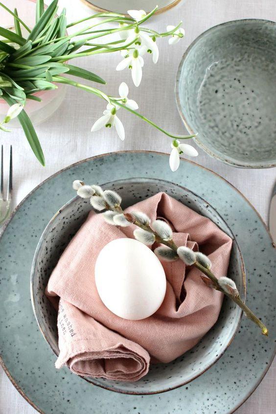 Jaro a Velikonoce v duchu Skandinávie a minimalismu - Obrázek č. 82