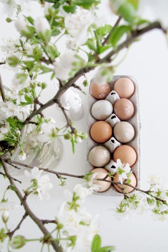 Jaro a Velikonoce v duchu Skandinávie a minimalismu - Obrázek č. 84