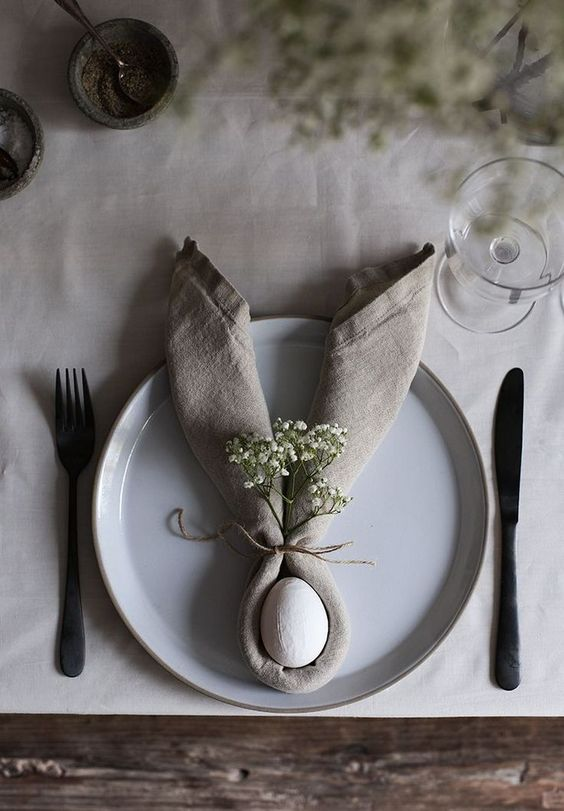 Jaro a Velikonoce v duchu Skandinávie a minimalismu - Obrázek č. 87