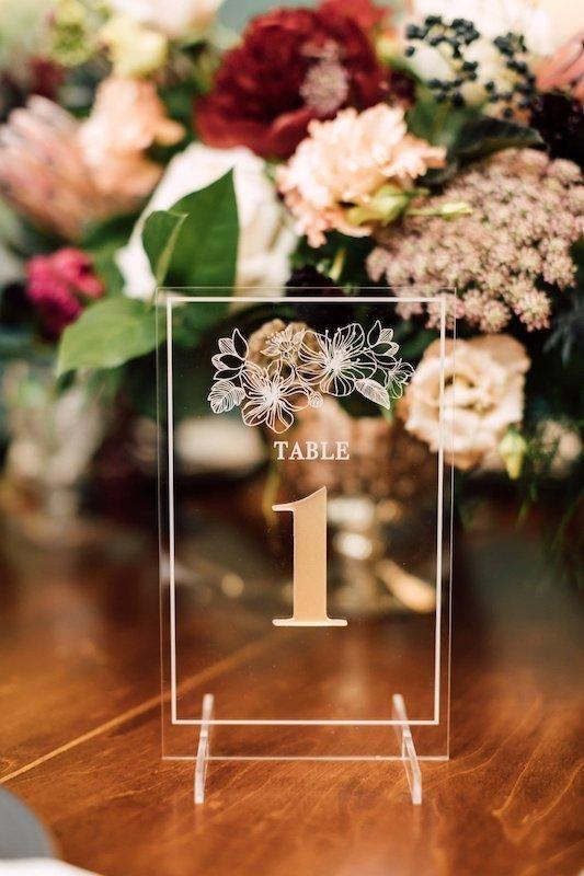 Nápady na číslování svatebních stolů - Obrázek č. 62