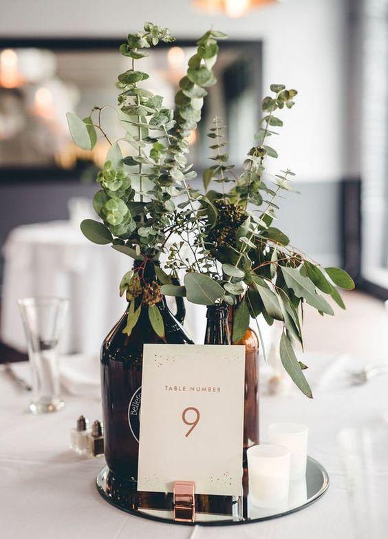 Nápady na číslování svatebních stolů - Obrázek č. 74