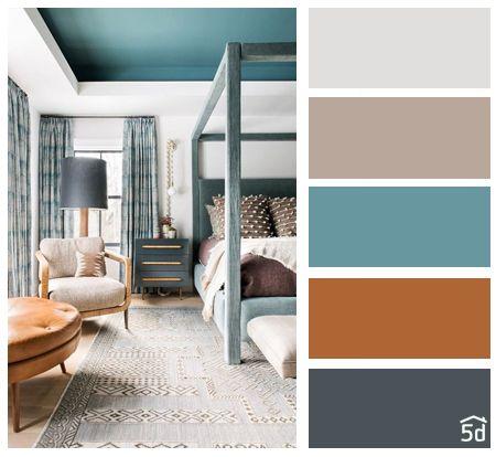 Barevné kombinace - inspirace do interiéru - Obrázek č. 2