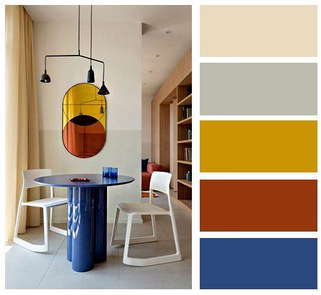 Barevné kombinace - inspirace do interiéru - Obrázek č. 10