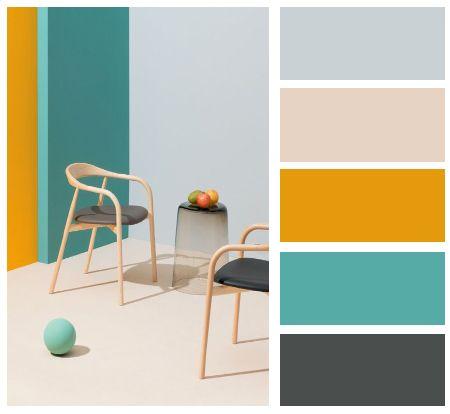 Barevné kombinace - inspirace do interiéru - Obrázek č. 7