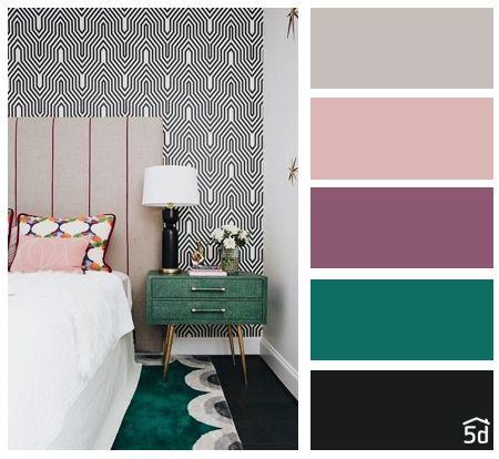 Barevné kombinace - inspirace do interiéru - Obrázek č. 9