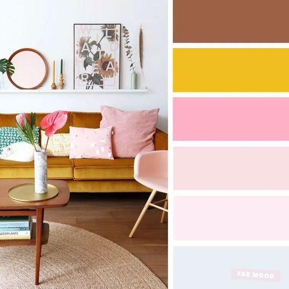 Barevné kombinace - inspirace do interiéru - Obrázek č. 19