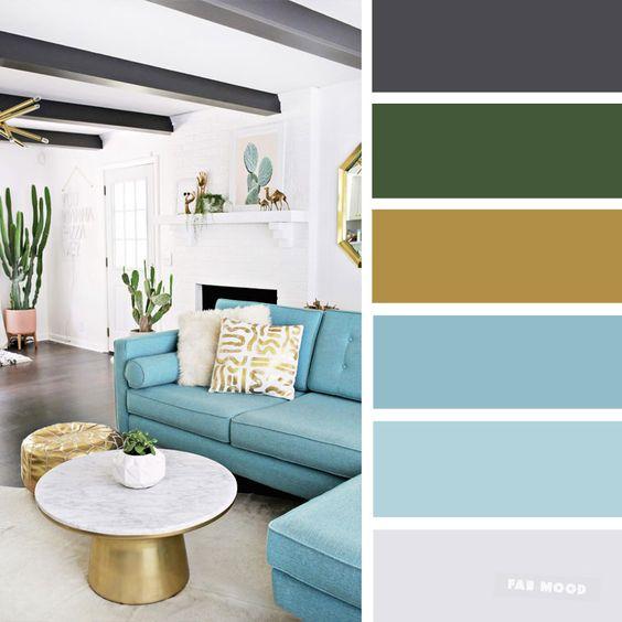 Barevné kombinace - inspirace do interiéru - Obrázek č. 18