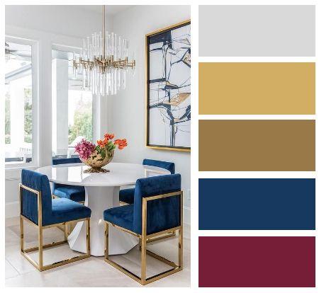 Barevné kombinace - inspirace do interiéru - Obrázek č. 22