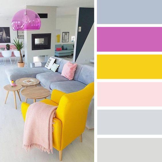 Barevné kombinace - inspirace do interiéru - Obrázek č. 21