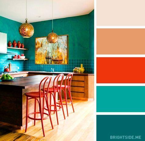 Barevné kombinace - inspirace do interiéru - Obrázek č. 1