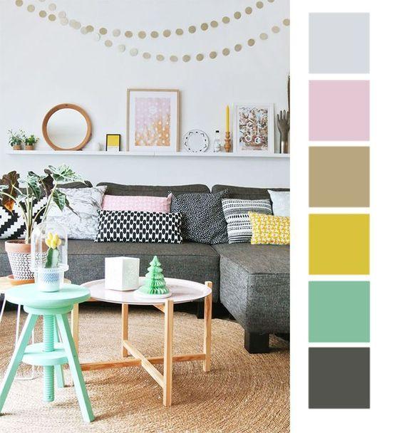 Barevné kombinace - inspirace do interiéru - Obrázek č. 17