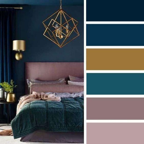 Barevné kombinace - inspirace do interiéru - Obrázek č. 25