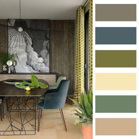 Barevné kombinace - inspirace do interiéru - Obrázek č. 23