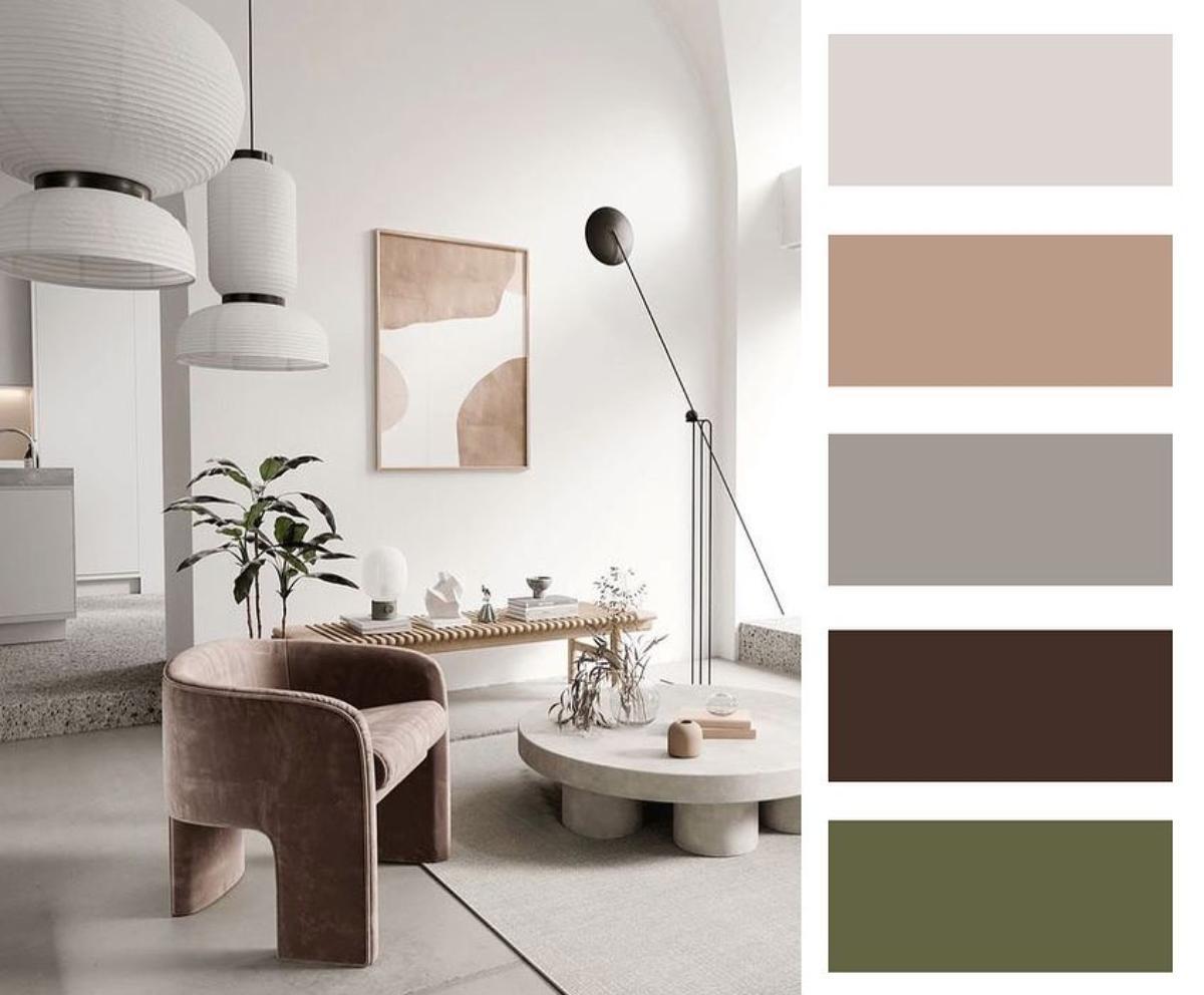 Barevné kombinace - inspirace do interiéru - Obrázek č. 34