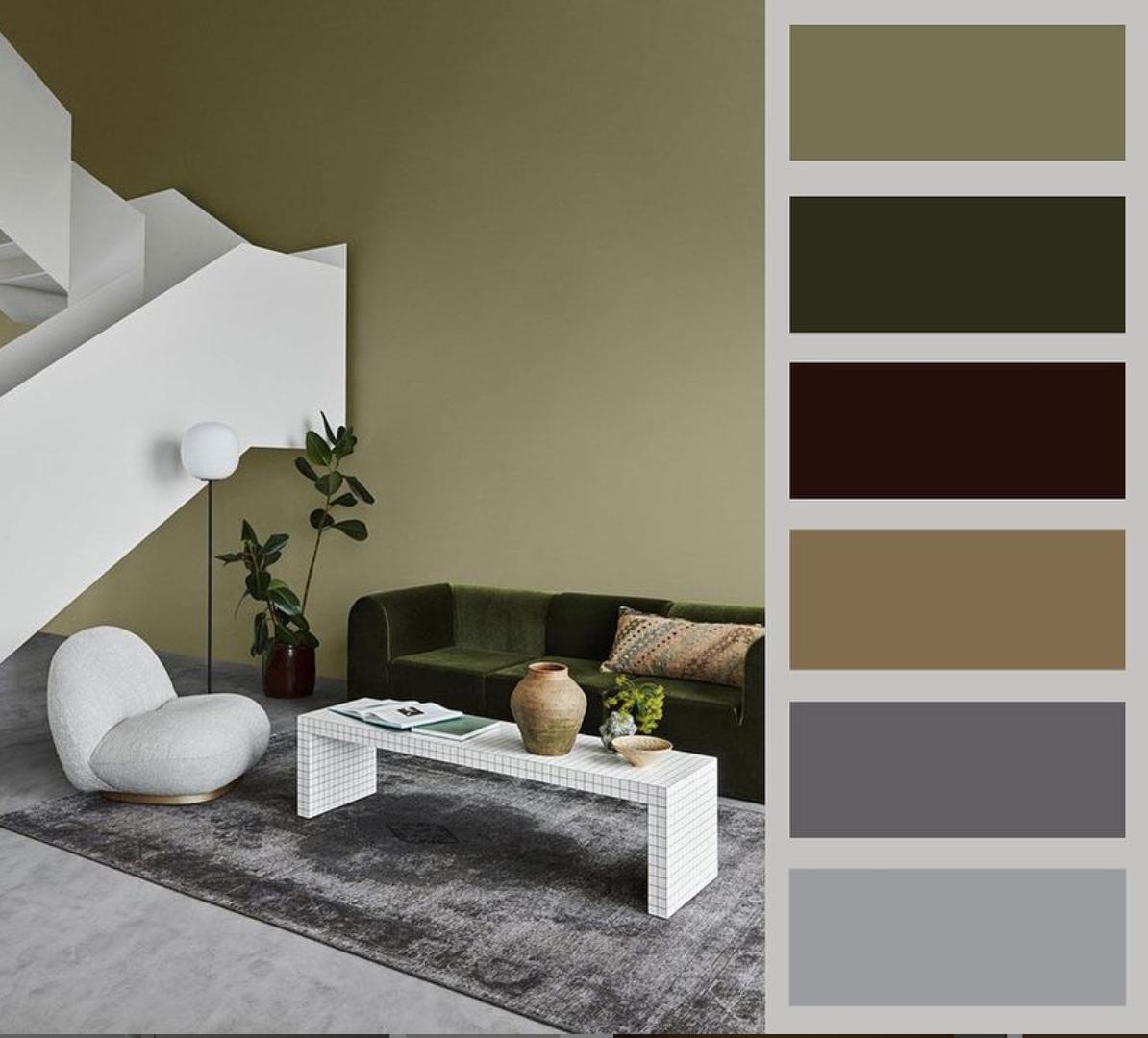 Barevné kombinace - inspirace do interiéru - Obrázek č. 37