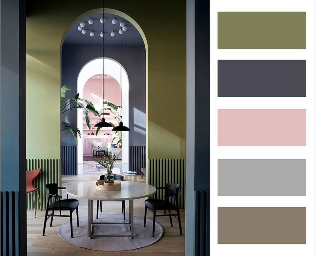 Barevné kombinace - inspirace do interiéru - Obrázek č. 45