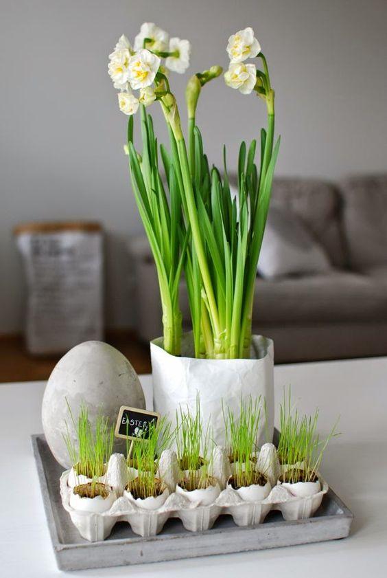 Jaro a Velikonoce v duchu Skandinávie a minimalismu - Obrázek č. 114