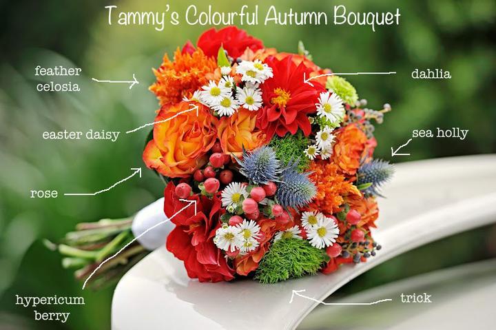 Jesenné kytice - Obrázok č. 6