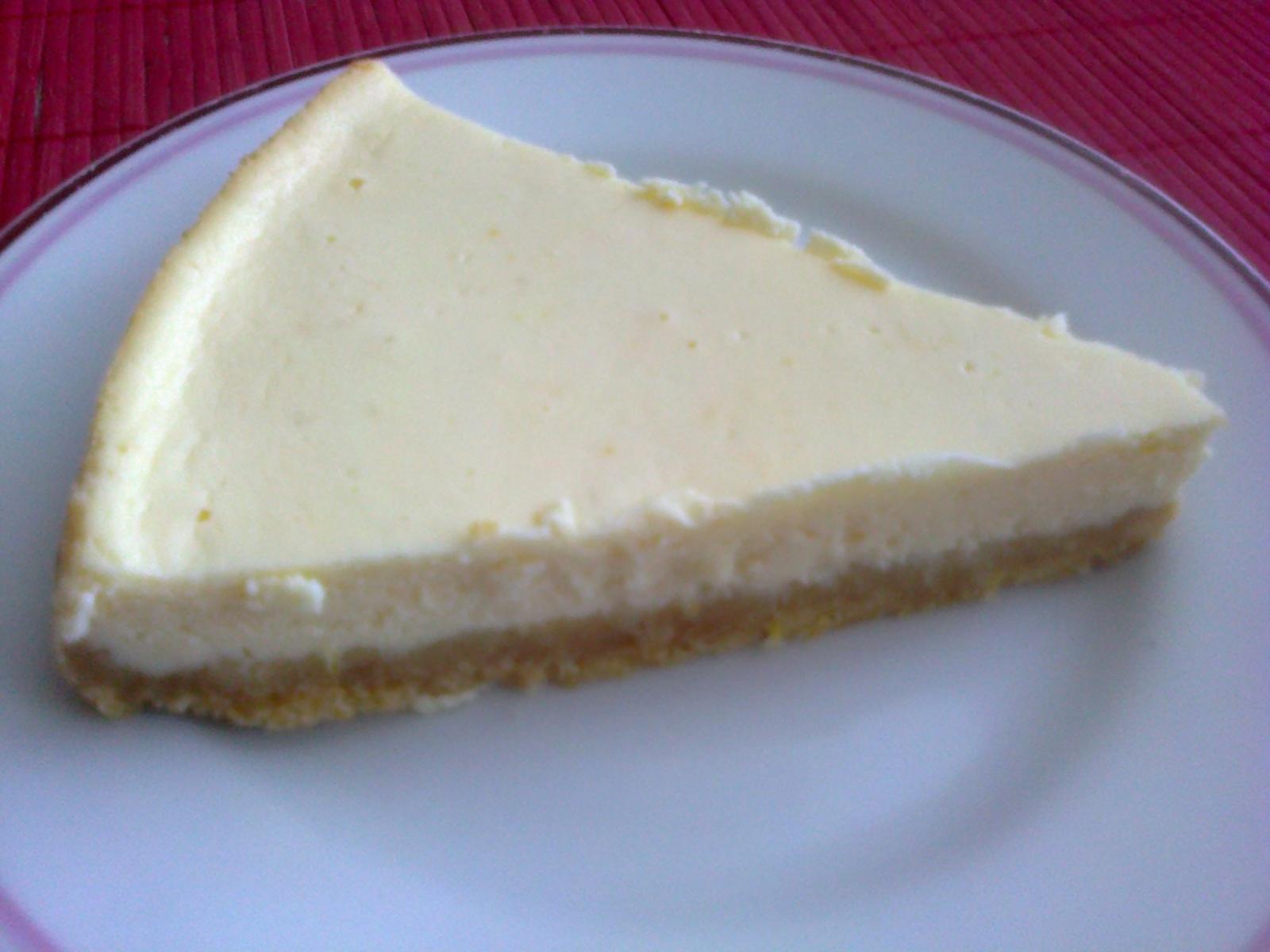 Moja záľuba - Citrónovo-tvarohový cheesecake