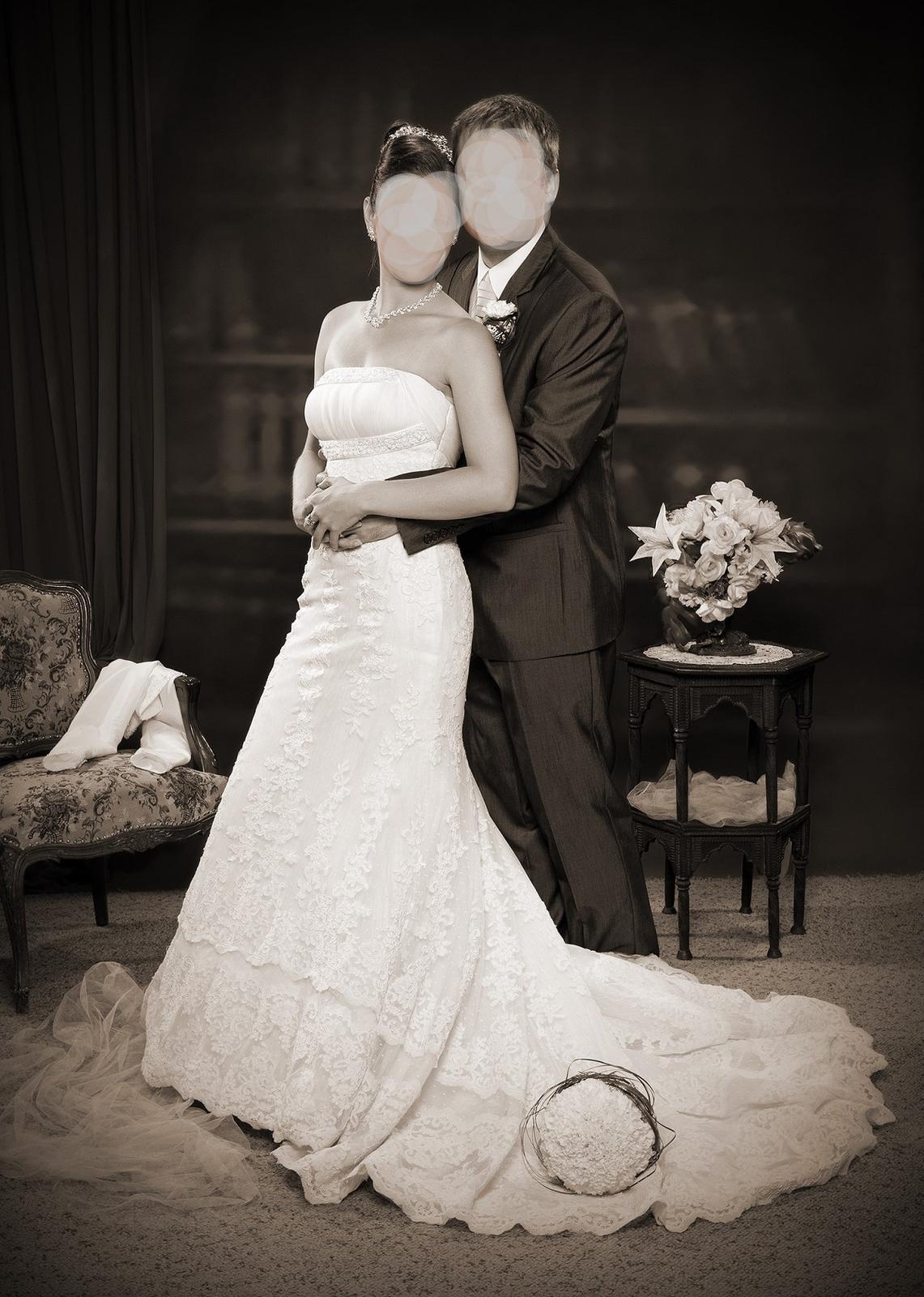 Destino svadobne šaty značky La Sposa - Obrázok č. 4