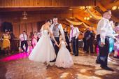 Baletkovské svadobné šaty, 36