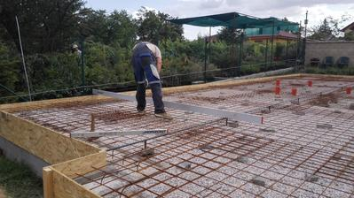 Príprava na betonovanie