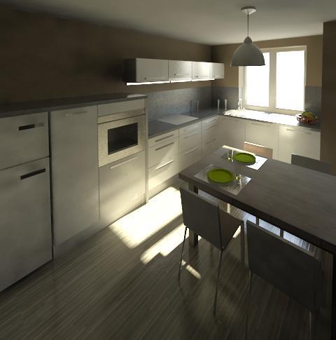 Byt - 'foto' buducej kuchyne