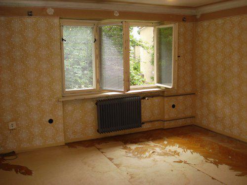 Byt - pôvodná obývačka