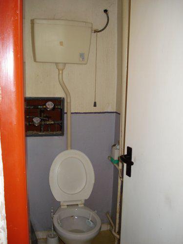 Byt - pôvodné wc