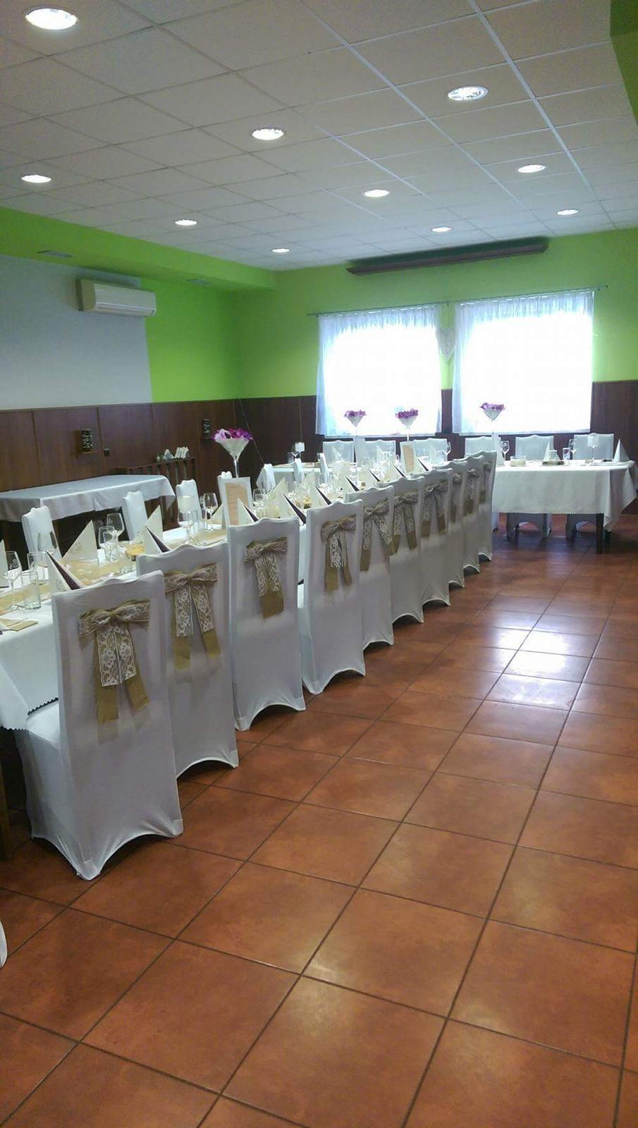 Svadobná priprava - Naša sála
