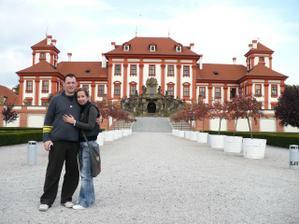 Mini svatební cesta do Prahy (Troja)