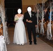 Netradiční svatební šaty, 40